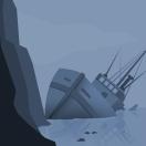 Shipwreck nuit